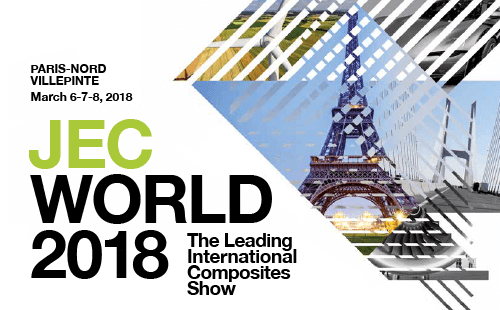 JEC World 2018 composites distribution