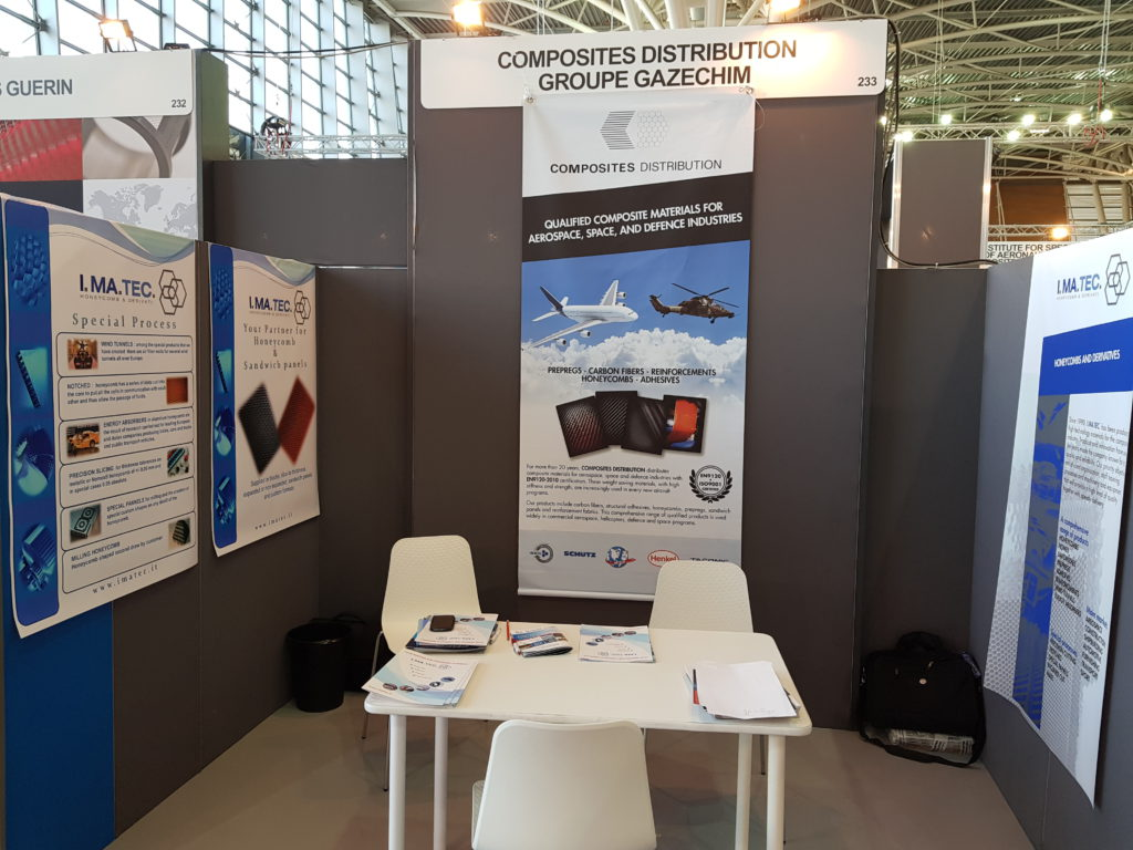 Composites Distribution  at Aerospace & Defense Meetings Torino